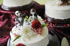 Jack & Sally if I didn't have Harley and joker wedding this would have been my theme!