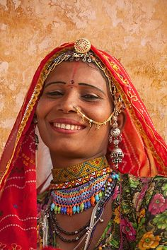 A REAL, beautiful Indian woman of the untouchable castle, rajasthan, india.  No touch ups, no lightened skin... just a wonderful smile.