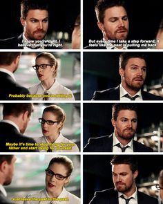 #Arrow #Olicity #5x21