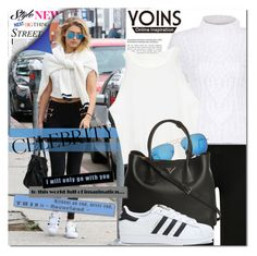 """""""Yoins 27/1"""" by never-alone ❤ liked on Polyvore featuring Ray-Ban, Prada and adidas"""