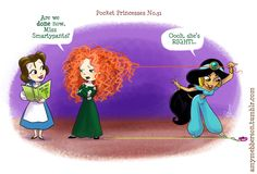 Pocket Princesses. Merida is me.