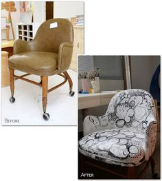 reupholstering an office chair. Reupholstered Rolling Office Chairs Are Really Cherry Reupholstering An Chair