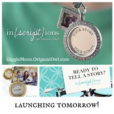 #OrigamiOwl, #inscriptions, #personalized