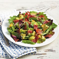 Find more healthy and delicious diabetes-friendly recipes like Bacon, Cherry Tomato, and Avocado Salad on Diabetes Forecast®, the Healthy Living Magazine.