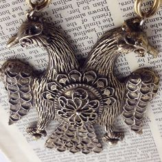 1960s Double Headed Eagle Necklace by LoftyMix on Etsy, $19.00