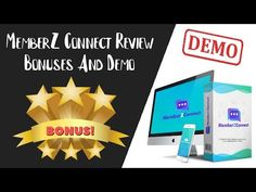 MemberZ Connect Review | MemberZ Connect Bonus And Demo - YouTube Training Software, Wordpress Plugins, Connection, Make It Yourself, Youtube, Youtubers, Youtube Movies