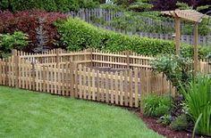 A Diva's Garden: Vegetable Garden Fencing
