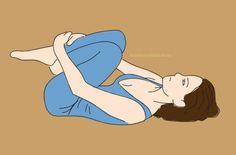 Sadece 2 günde ağrılardan kurtaran, gençlik iksiri içmiş gibi yapan egzersiz hareketleri Fitness Memes, Fitness Tips, Health Fitness, Yoga Fitness, Hormon Yoga, Relaxing Yoga, Health Promotion, Yoga Tips, Asana