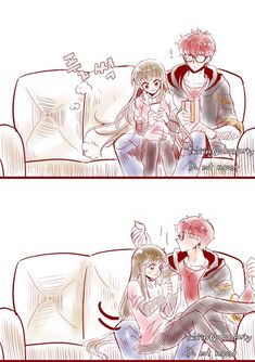 Image Mystic Messenger Characters, Mystic Messenger Fanart, Mystic Messenger Memes, Cute Couple Comics, Cute Couple Art, Cute Couples, Anime Couples Drawings, Anime Couples Manga, Seven Mystic Messenger