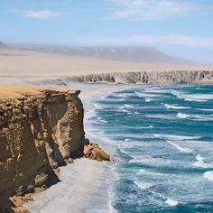 Where immense sand dunes meet the ocean, plus wildlife as stunning as in the Galapagos. Paracas, Peru. Coastalliving.com