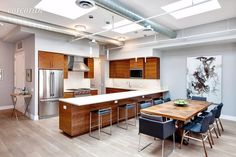 Nice modern kitchen for an NY condo.