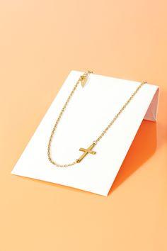 Sideways Religion Necklace