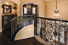 Overland Park Interior Designer Arlene Ladegaard Wins for 9 Consecutive Years! This Tuscan-inspired Kansas City home features two kitchens, a grand staircase, two offices, a 30′ brick barrel ceiling, and ornate, intricate details throughout. See more pics of these award winning projects here: http://www.designconnectioninc.com/overland-park-interior-designer-arlene-ladegaard-wins-for-9-consecutive-years/ Design Connection, Inc. | Kansas City Interior Design
