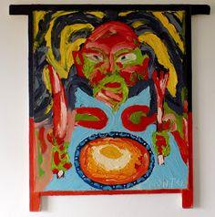 Arte Moderna & Contemporânea: Francesinha com ovo
