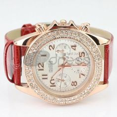 Advanced red diamond watches