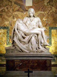 Pieta z bazyliki św. Piotra - michal aniol