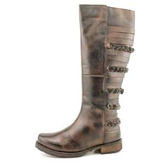 Luichiny Launch Able Womens Leather Fashion Knee High Boots | eBay