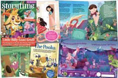 We've given Storytime Issue 58 an extra sprinkle of magic to help your kids love reading. From Shakespeare and Lear to kangaroo myths and toy stories – don't miss it! Billy Goats Gruff, Love Reading, Story Time, Toy Story, You And I, Poems, Magazine, Activities, My Love