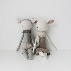 foundling no. 5 handmade rag doll by ohalbatross on Etsy