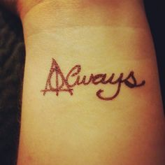 tattoo deathly hallow always - Google Search