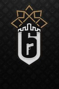 1125x2436 Tom Clancys Rainbow Six Siege Minimal Logo 4k