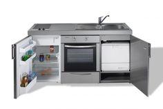 Cocinas que lo tiene todo en muy poco espacio Mini-cocina Kitchenline MKBGSES 160 de Limatec