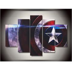 Octo Treasures is where artists, photographers, and commercial decorators go when they want their most important work printed and their most important spaces decorated.  Start creating your own customized wall art click the link for more info https://www.octotreasure.com  Style Your Home Today With This Amazing 5 Pieces/set Modle Canvas Printings Captain America Comics Wall Art Decoration for home Poster Canvas Printed Painting For $26.00