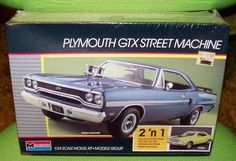 PLYMOUTH STREET MACHINE  2'N'1 MODELS RACE OR STOCK