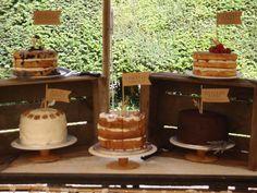 Cake table wedding cake