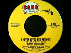 Jimmy Beaumont - I never loved her anyway [Bang]