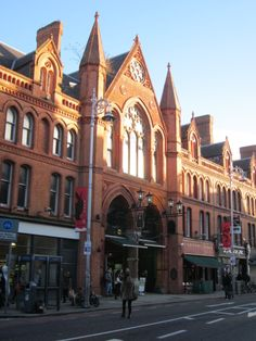 George's St Arcade, it's to Dublin what Camden market is to London. Small indoor arcade in beautiful redbrick building with stores selling alternative clothing and various trinkets.