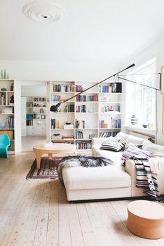 Huset, der er fyldt med smukke pangperler | Boligmagasinet.dk #interiores #unifamiliar #salón
