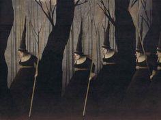 gabriel-pacheco-la-strega-e-lo-spaventapasseri-08 Miguel Angel, My Fantasy World, Season Of The Witch, Pop Surrealism, Elements Of Art, People Art, Halloween Art, Surreal Art, Fantasy Creatures