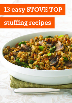 13 Easy STOVE TOP Stuffing Recipes – Want to make folks thankful they came to your house for the holidays this year? These Thanksgiving recipes featuring STOVE TOP stuffing ought to do the trick!