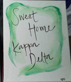 sweet home kappa delta