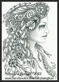 Fairy Tangles: July 2012