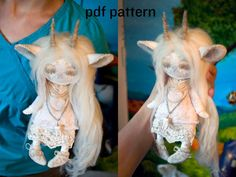 monster doll pattern / human doll pattern / forest doll pattern / sewing pattern NO tutorial - Mandeep Madden Dolls Plushie Patterns, Doll Sewing Patterns, Clothing Patterns, Knitting Patterns, Pattern Sewing, Softie Pattern, Sewing Dolls, Monster Dolls, Sock Monster