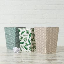 There's nothing dull about our bins they will easily brighten up a corner of your workspace or home. All our beautiful handmade stationery and storage products are produced in an eco-friendly way, from 100% recycled materials