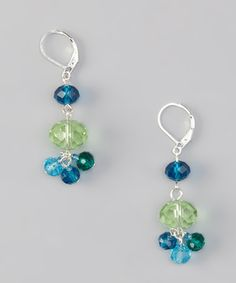 Stylishly sea-inspired, these beaded beauties are ready to imbue a sense of calm serenity into any ensemble with their tranquil blue-green hue and light-catching faceted glass gems.