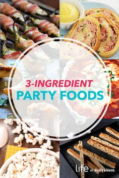 9 Easy Party Snack Recipes