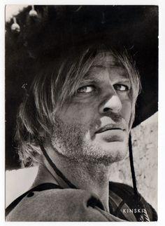 Klause Kinski in For a Few Dollars More, 1965, dir Sergio Leone.