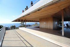 瀬戸内海国立公園 宮島弥山展望休憩所-三分一博志 Mt. Misen Observatory-Hiroshi Sambuichi