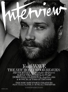 Jai Courtney for Interview June/July 2015 Covers
