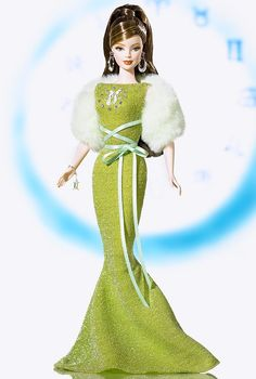 Gemini Barbie Doll - Special Occasion - 2005 Zodiaz Doll Collection - Barbie Collector