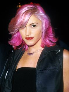 Pink Hair never seemed so natural - Gwen Stefani Street Fashion Pictures - Marie Claire
