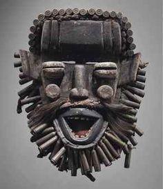 Masque Guéré Guere mask