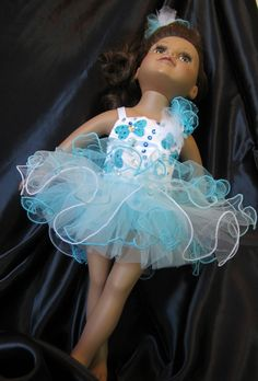 Doll Clothes 18 inch Dolls GLITZ Pageant by HauteDesignsByNorine