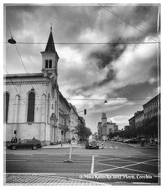 #plzen #plzeň #pilsen #2017 #myphoto #czech #czechia #czechrepublic #cesko #česko #ceskarepublika #street #church #history #heritage #saint #santa #crossroads #photo #photos #photography #today #travel