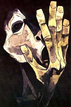 1993 by Oswaldo Guayasamin Quito, Ecuador) Arte Horror, Horror Art, Fantasy Kunst, Fantasy Art, Hand Kunst, Sad Art, Art Plastique, American Art, Art Drawings