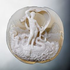C16th Cameo of Venus made in Italy. Holburne Museum Bath